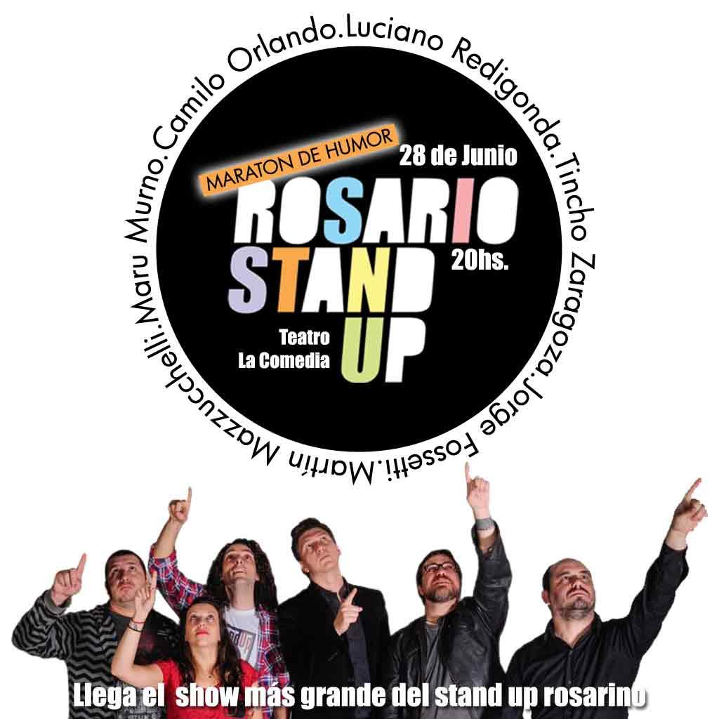 Maraton de Humor #RosarioStandUp