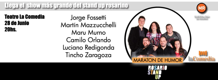 Maratón de Humor #RosarioStandUp